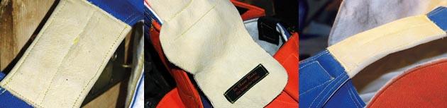 Laufschutz aus Leder – Hochwertige Schutzbekleidung Extras